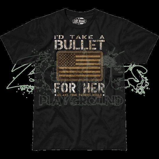 Bullet For Her Premium T-Shirt