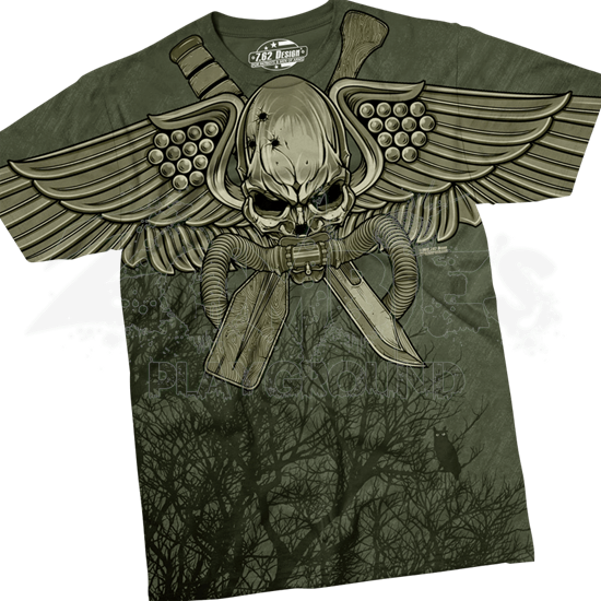 USMC Recon Swift Silent Deadly T-Shirt