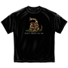 Dont Tread On Me Black T-Shirt