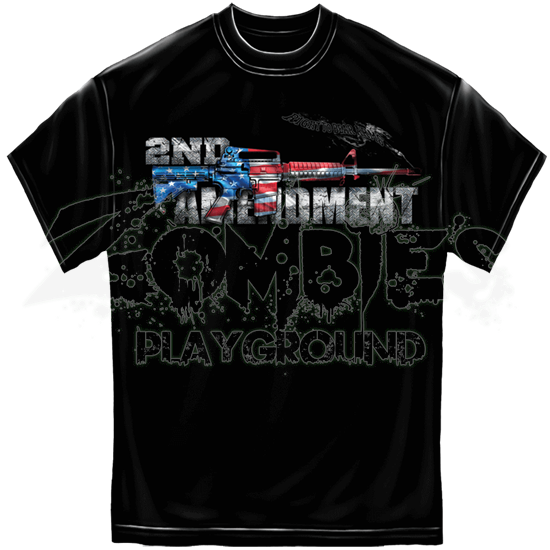 Second Amendment American Gun T-Shirt