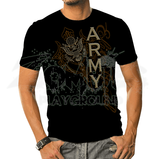 Army Elite Breed Axes T-Shirt