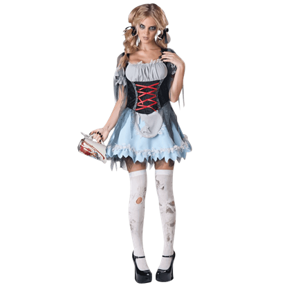 Zombie Beer Maiden Costume
