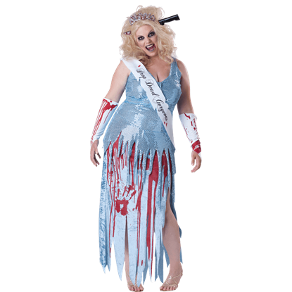 Womens Drop Dead Gorgeous Plus Size Costume