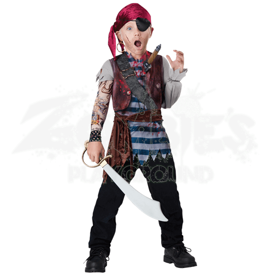 Boys Dead Mans Chest Costume