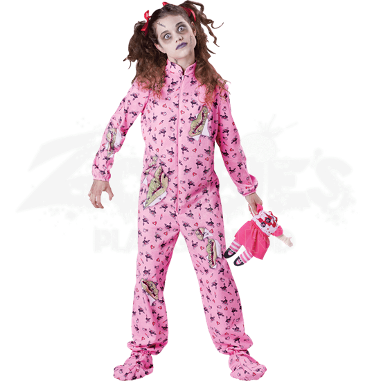 Zombie Girl Tween Costume