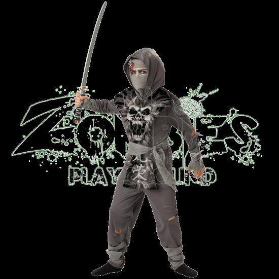 Zombie Ninja Boy's Costume