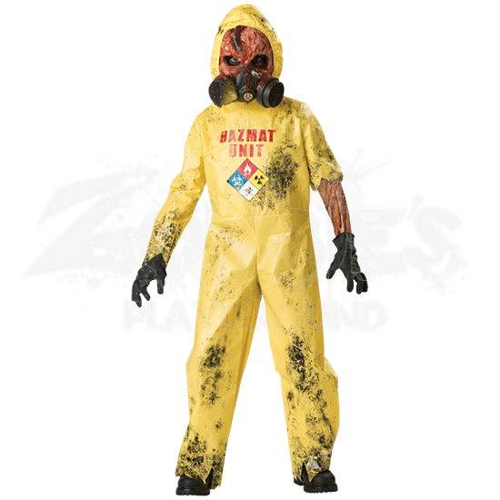 Hazmat Hazard Boy's Costume