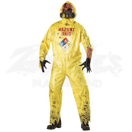 Hazmat Hazard Adult Costume