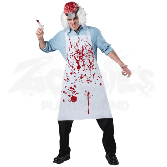 Mad Doctor Costume Kit