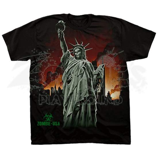 Zombie Liberty T-Shirt
