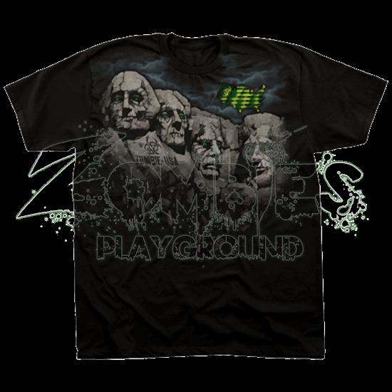 Zombie Rushmore T-Shirt