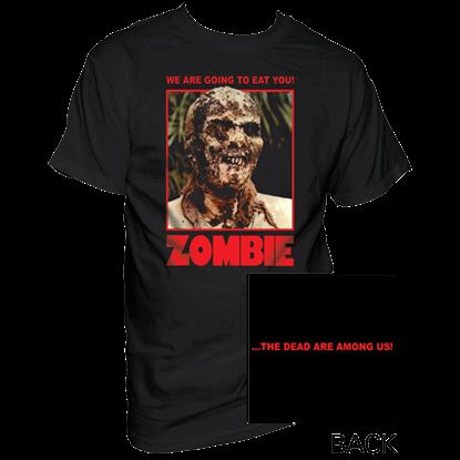 Colored Ravenous Zombie T-Shirt