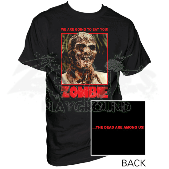 Colored Ravenous Zombie T-Shirt