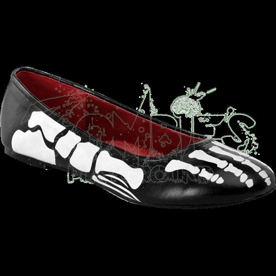 X-Ray Ballet Flats