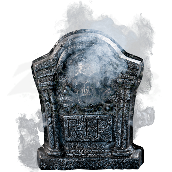 Tombstone Fog Machine Cover