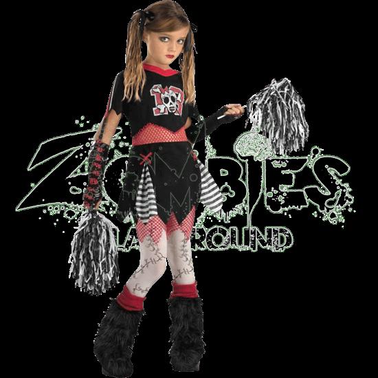 Cheerless Leader Girls Costume