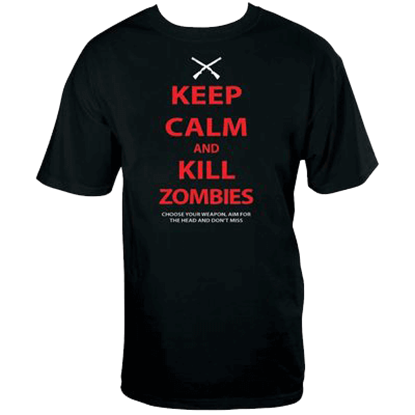 Keep Calm Zombies T-Shirt