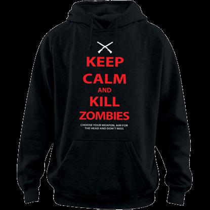 Keep Calm Zombies Hoodie