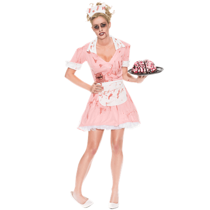 Zombie Waitress Costume