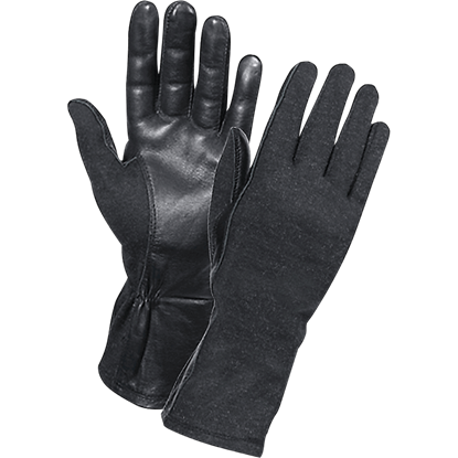 Black G.I. Flight Gloves