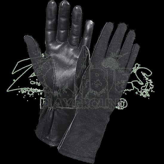 Black G.I. Flight Gloves