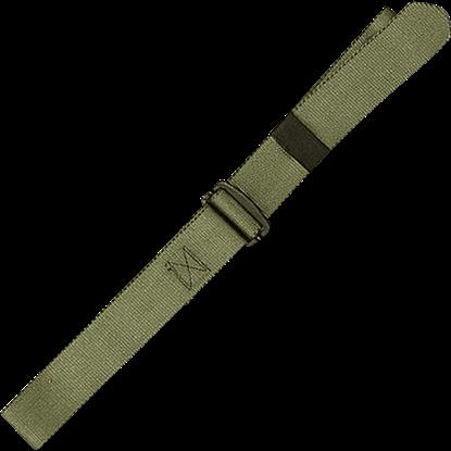 Olive Green Adjustable Nylon BDU Belt