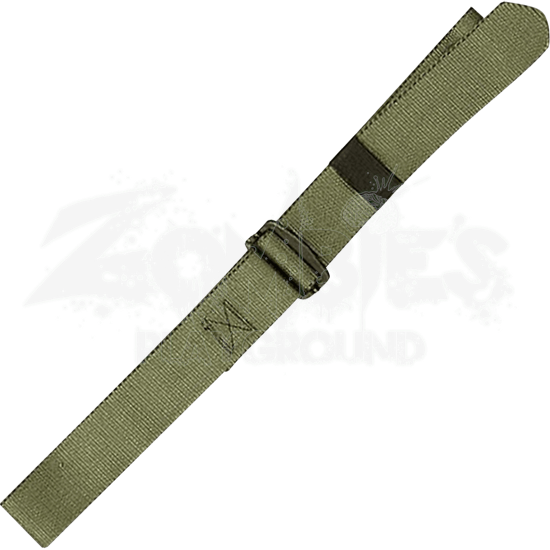Olive Green Adjustable Nylon BDU Belt
