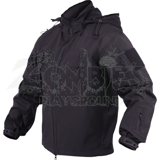 Black Conceal and Carry Jacket
