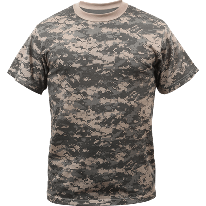 ACU Digital Camo Military T-Shirt