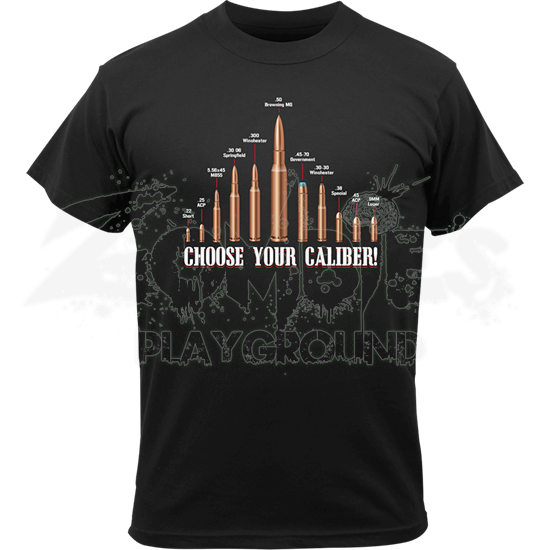 Vintage Choose Your Caliber T-Shirt