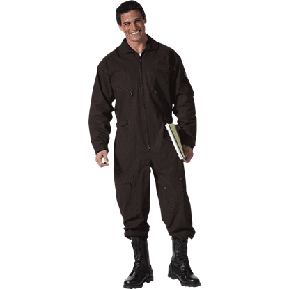 Tactical Black Military Flightsuit
