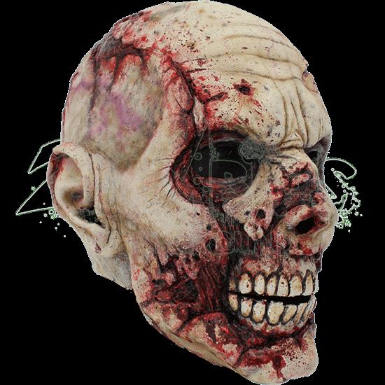 Pale Scarface Zombie Mask