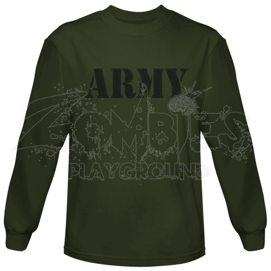 Green Army Long Sleeve T-Shirt