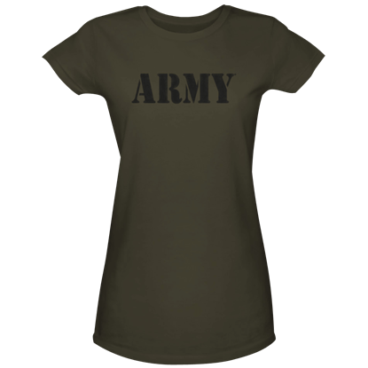 Green Army Womens T-Shirt