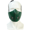 Leather Biohazard Mempo Mask