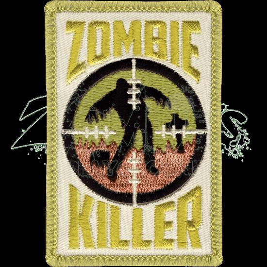 Cloth Zombie Killer Patch