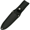 Black Boot Knife with Sheath