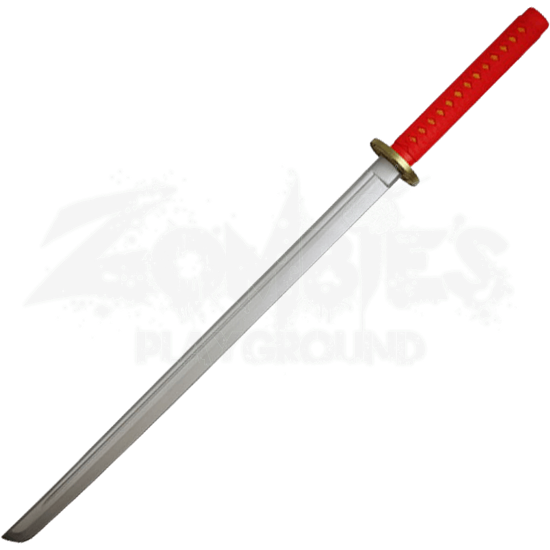 Red Foam Samurai Katana
