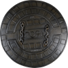 LARP Sewer Shield – Dark Moon Collection