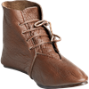 14th Century Laced Low Boots