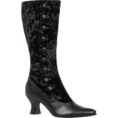 Lady Gail Spat Style Boots
