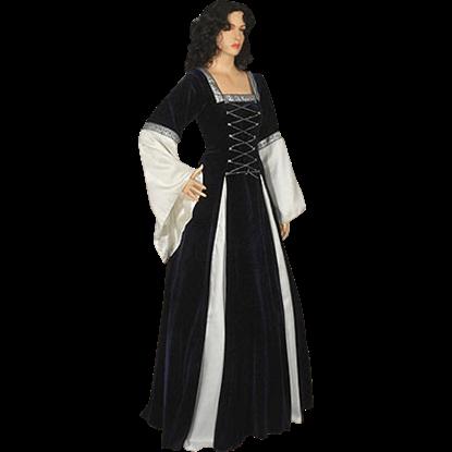 Dark Blue Fair Maidens Gown