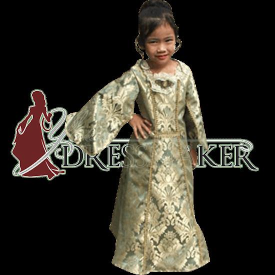Childs Baroque Renaissance Gown