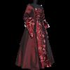Dark Red Contessa Dress