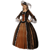 Lady's Renaissance Dress