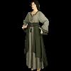Lady's Saxon Style Dress