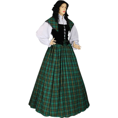 Traditional Scottish Tartan Ensemble