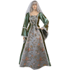 Lace Up Bodice Medieval Gown
