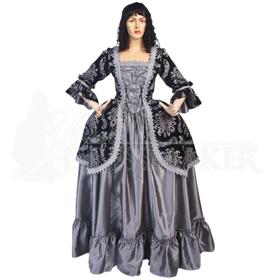 Baroque Queen Renaissance Dress