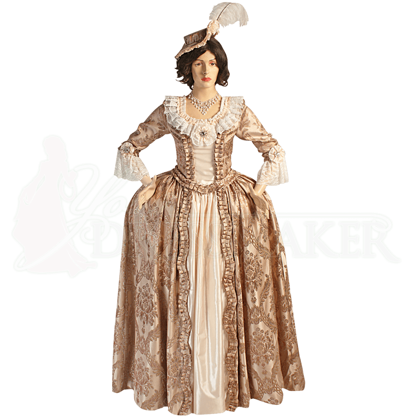 baroque renaissance dress mci441 by medieval and